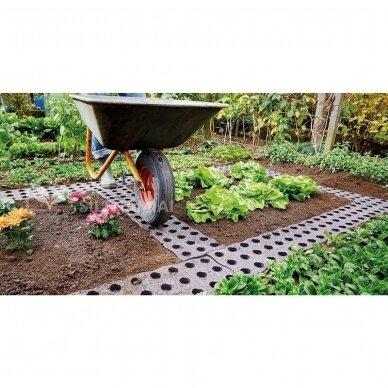 Plastikinė sodo plytelė MaXi 4